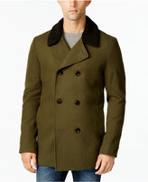 American Rag Men's Notch Collar Double Breasted Peacoat, Only at Macy's