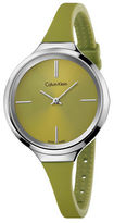 Calvin Klein Lively Silicone Stainless Steel Watch