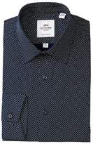 Ben Sherman Double Dot Print Tailored Slim Fit Dress Shirt