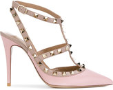 Valentino Rockstud ankle strap pumps - women - Leather - 35