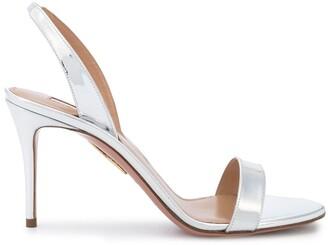 Aquazzura So Nude slingback sandals