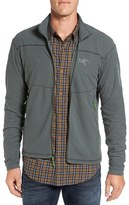 Arc'teryx Men's 'Delta Series' Trim Fit Lightweight Fleece Jacket