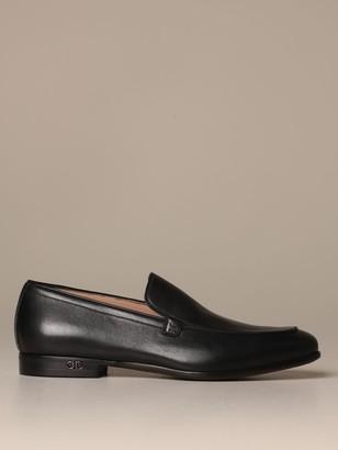 Salvatore Ferragamo Classic Ridley Genuine Leather Loafers
