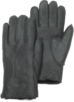 Julia Cocco' Black Eco-Leather Women's Gloves