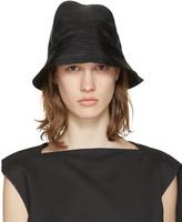Rick Owens SSENSE Exclusive Black Bucket Hat