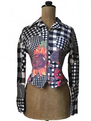 Christian Lacroix Multicolour Cotton Jacket for Women Vintage