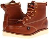 Thorogood 6 Safety Moc Toe (Tobacco) Men's Work Boots