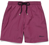 Vilebrequin - Moorea Gingham Mid-length Swim Shorts