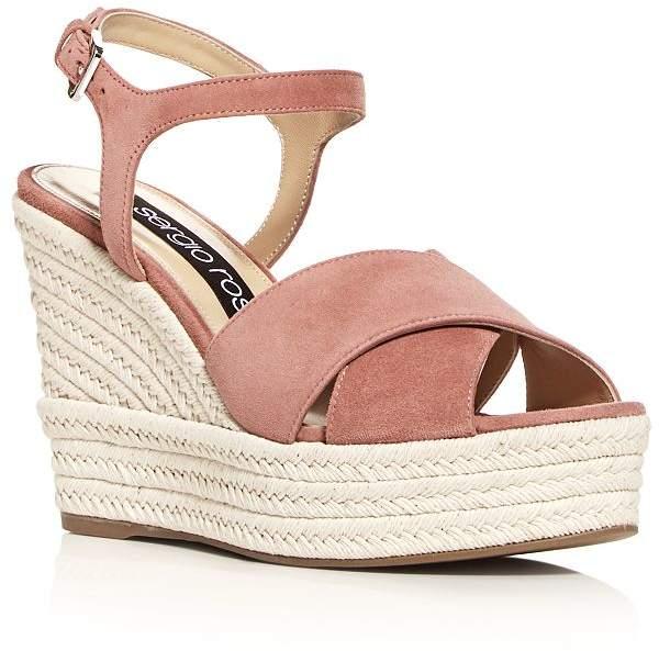 fb16091b6d Sergio Rossi Platform Wedge Women's Sandals - ShopStyle