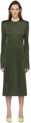 Kwaidan Editions Khaki Flared Sleeve Dress