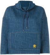 Kenzo woven effect sweatshirt