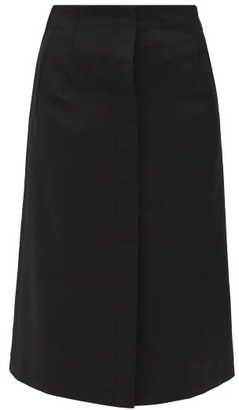 Acne Studios Ivanne High-rise Buttoned Skirt - Black