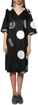 Keegan Eclipse Dress Black M/L