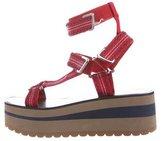 Versace Velcro Platform Sandals