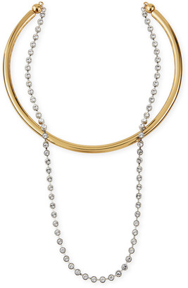 DEMARSON Talitha Convertible Necklace, Clear