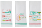 Cheeky Chef Dish Towels (Set of 3)