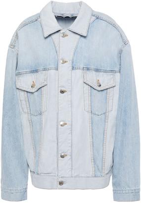 IRO Gilda Two-tone Denim Jacket