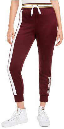 Juicy Couture Cotton Side-Stripe Track Pants