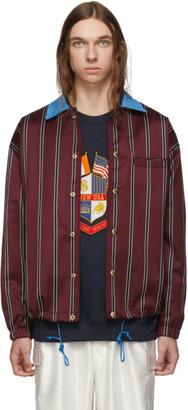 Landlord Burgundy School Uniform Coaches Jacket