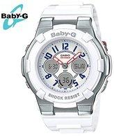 Casio Women's Baby G BGA110TR-7B Rubber Quartz Sport Watch