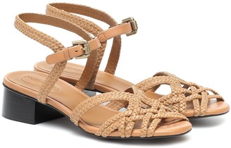 See by Chloe Katie leather sandals