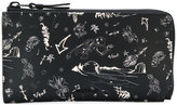 Lanvin graphic wallet - men - Calf Leather - One Size