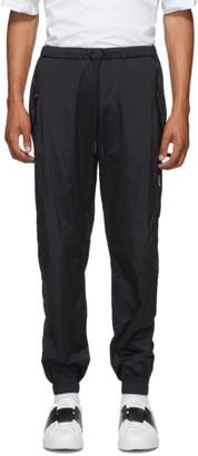 Marcelo Burlon County of Milan Black Cross Bomber Lounge Pants