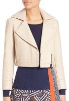 Diane von Furstenberg Valeria Leather Jacket