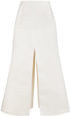 A.W.A.K.E. Mode A-line high waist maxi skirt