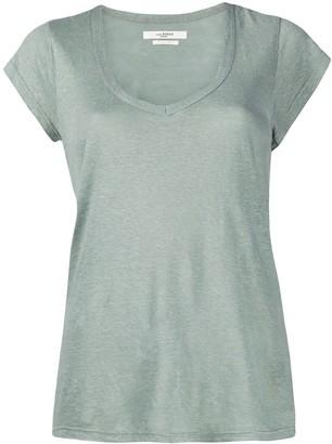 Etoile Isabel Marant scoop-neck jersey T-shirt