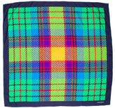 Valentino Plaid Silk Scarf