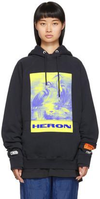 Heron Preston Black Heron Birds Hoodie