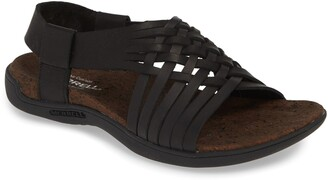Merrell District Mahana Leather Woven Sandal
