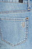 Jessica Simpson 'Kiss Me' Deconstructed Skinny Jeans (Powder Blue/Dynamic)