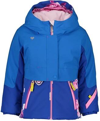 Obermeyer Stormy Jacket (Toddler/Little Kids/Big Kids) (Blue Vibes) Girl's Jacket