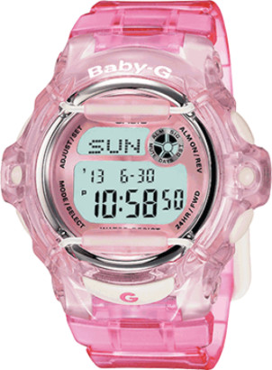 Casio BG169R-4 Baby-G Whale Series Digital Dial Pink Resin Band Watch New, 889232178455, BRC1 - $79