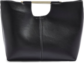Topshop Tina Faux Leather Tote