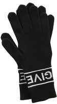 Givenchy Women's Black Wool Gloves.