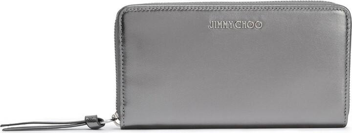 Jimmy Choo Metallic Leather Wallet
