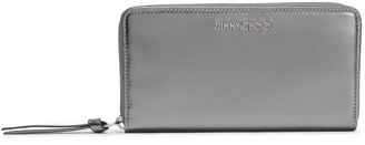 Jimmy Choo Metallic Leather Wallet