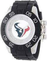 Game Time Men's NFL-BEA-HOU Beast Round Analog Watch