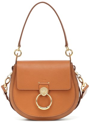 Chloã© Tess Large leather shoulder bag