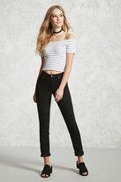 Forever 21 FOREVER 21+ High-Rise Skinny Jeans