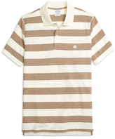 Brooks Brothers Slim Fit Wide Bar Stripe Polo Shirt