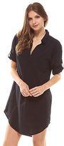 Deshabille NEW Revallo Shirt Dress Black Women's