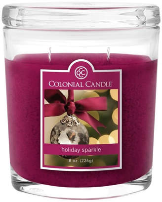 Colonial Candle Holiday Sparkle 8 oz Oval Jar Candle