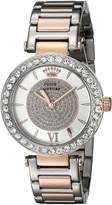 Juicy Couture Women's 1901230 Luxe Couture Analog Display Quartz Two Tone Watch