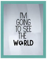 "PTM Images See The World Wall Decor - 16.75"" x 20.75"""