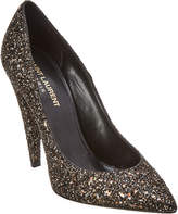 Saint Laurent Era 110 Glitter Pump