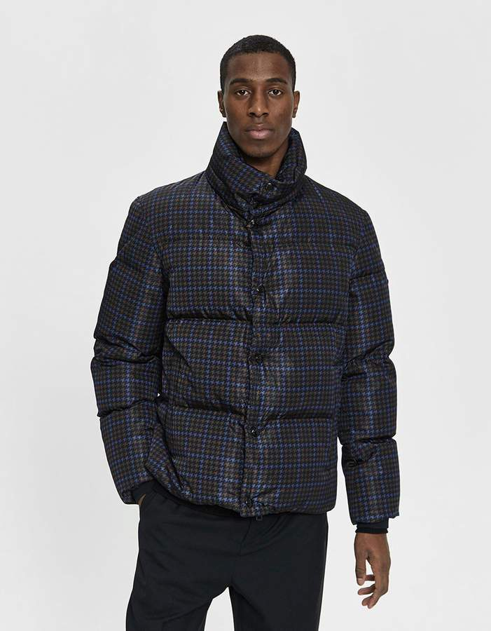 Moncler Jansen Down Jacket in Navy
